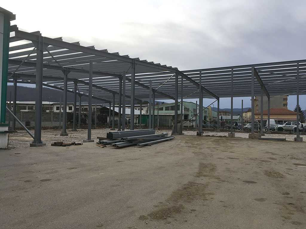 Warehouse-extension to a furniture workshop for production activities and warehousing needs, Botevgrad