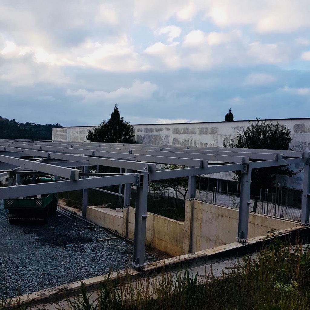 Carpentry industrial unit