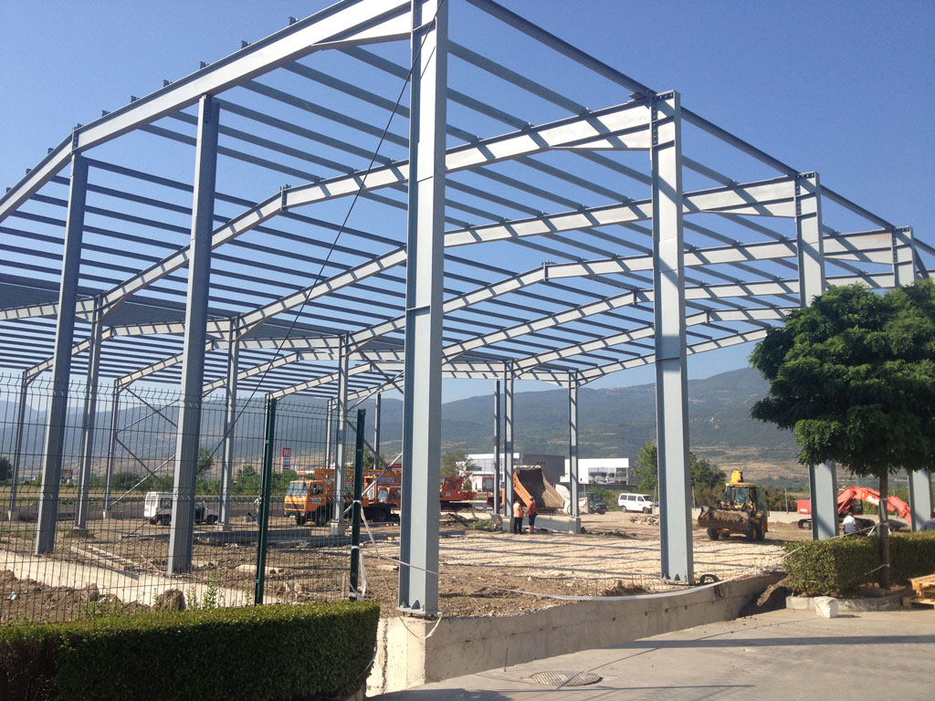 Extension to an existing production plant for finished products warehouse – production and warehousing activities
